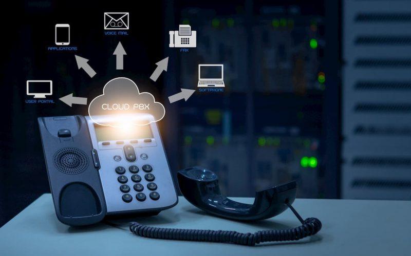 Equipo telefónico PBX para telefonía de empresas